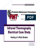 Infrared Thermography Inspection - Electrical Case Study of MCC Disconnect