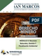 MANUAL MODULO II Recursos Naturales Gestion Y Fiscalizacion Ambiental
