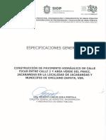 IO 930007995 E34 2019 Especificaciones Generales