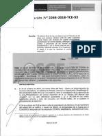 RESOLUCION N°2265-2018-TCE (RECURSO APELACION)