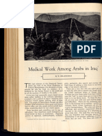 """Medical Work Among Arabs In Iraq,"" 1937"