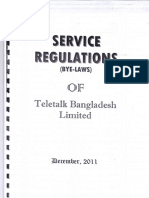 Service Rule of TBL