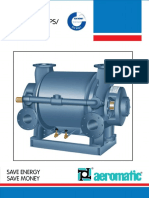 Water Ring Vacuum Pumps Compressors