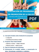 evaluacion de programas en promocion de la salud
