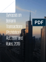 Synopsos on Benami Transactions (Prohibition) Act, 2017 & Rules, 2019-1.pdf