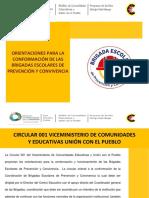 04 Orientaciones Conformacion de Brigadas 2018-2019