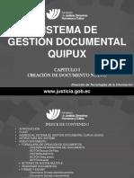 Curso Quipux Cap I