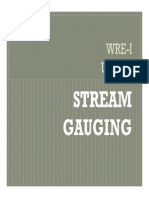Stream Gauging