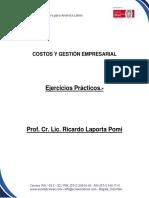 Costos y Gestión Empresarial-ejercicios Prácticos