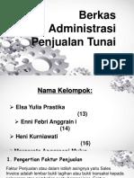 Berkas Administrasi Penjualan Tunai