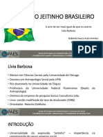 o jeitinho brasileiro slides