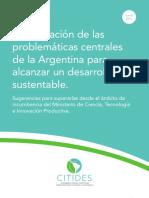 Problematicas Centrales Del Desarrollo Sustentable en Argentina 2017
