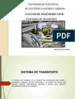 V. Clase - Sistemas de Transporte