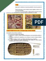 Pintura Rupestre y Caracteristicas Escritura Couniforme