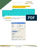 guía para imprimir autocad