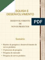 PESQUISA E DESENVOLVIMENTO - Desenvolvimento de Novos Produtos (2)