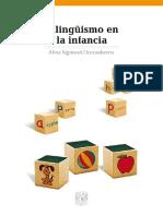 Bilinguismo en La Infancia