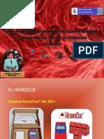 Uso, Manejo y Mantenimiento de Equipos Hemocue Para Obstetras