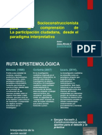 SOCIOCONSTRUCCIONISMO (PRESENTACION)