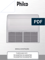 Manual Philco Ar Piso Teto Pac36000 60000pfm5