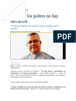 2 Santiago Agrelo Fuera de Los Pobrs No Hay Salvacion