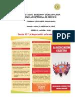 Semana 13 Laboral Negociacion y Convenio Colectivo