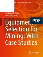 Equipment Selection for Mining