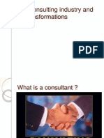 The Consulting Industry and Its Transformations in Word