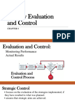 Chapter 6 - Strategy Evaluation and Control