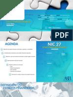 Presentación - NIC 27 - Estados Financieros Separados