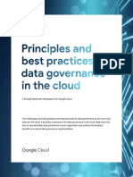Principles Best Practices for Data-governance