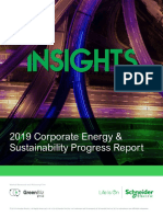 2019 Corporate Energy and Sustainability Progress Report