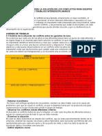 Evidencia 7 Agenda de Trabajo Solución de Conflictos Para Equipos de Trabajo Interdisciplinarios