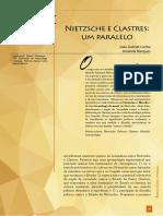 Amanda Marques e João Gabriel Cunha - Nietzsche e Clastres um paralelo