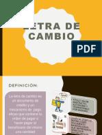 Contabilidad LETRA DE CAMBIO