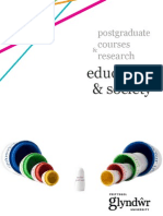 Glyndŵr University Postgraduate Courses and Research