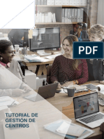 Tutorial Gestion Centros