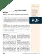 Pterygomandibular raphe