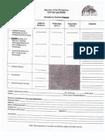 Business Permit Renewal Checklist