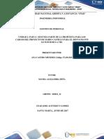SEGUNDA PARTE DE LA PROPUESTA PARA LOS CARGOS DEL PROYECTO