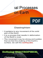 Internal Processes on Earth