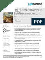 L Los Siete Principios Del Camino de Santiago Prince Es 31729