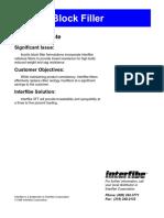 Formulacion Acrylicblockfiller Con Interibe 5ft