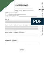 Formatos Folder de Tutoria