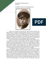 PERSONAJES REPUBLICANOS DE VÉLEZ-MÁLAGA. Laureano Martín García, último alcalde republicano