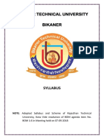 b.tech Mechanical Syllabus
