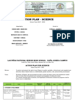 Dona Josefa Action Plan SCIENCE 2019 2020