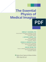 Essential Physics of Med Imaging