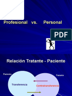 Transferencia y Contratransferencia  presentación