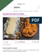 Masa Araabe de Pasta Kataifi o Kadaif